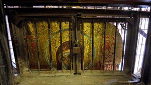 Старинная икона Богородицы найдена в петербургском кафе
