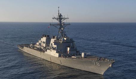 Эсминцы для Тихого океана