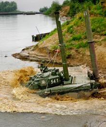 Сухопутные войска России в действии