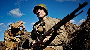 Военно-историческая реконструкция битвы на Курской дуге