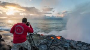 Охотник за извержениями вулканов