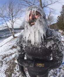 """Как отрастить """"ледяную бороду"""""""