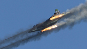 Воздушные бои в небе над Рязанью