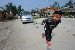 Самый сильный ребенок в Китае