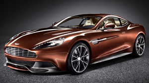 Легендарный суперкар Aston Martin Vanquish