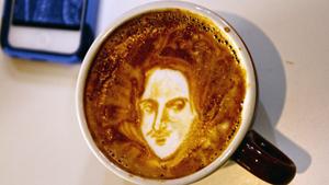 Портреты на кофейной гуще