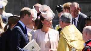 На крестины 3-месячного принца Георга приглашены самые избранные