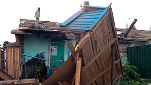 В Тульской области из-за  урагана введен режим ЧС