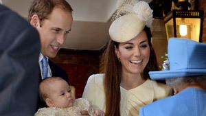 У щекастого принца Георга теперь 7 крестных родителей