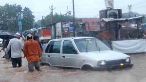 Наводнение в Индии: три человека пропали без вести