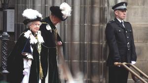 Елизавета II посвятила принца Уильяма в рыцари Ордена Чертополоха