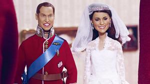Свадебные куклы Уильяма и Кейт