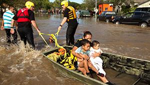 Жаркий Техас захлебывается от воды