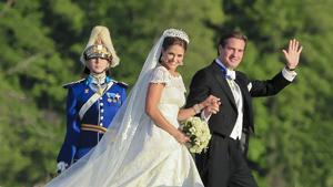 Свадебные фотографии принцессы Мадлен