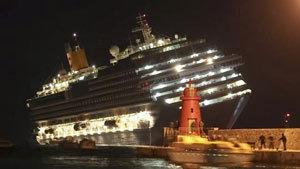 Авария круизного лайнера у берегов Италии: есть жертвы