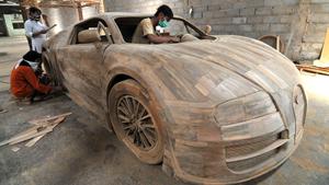 Bugatti для Запада сделают из дерева