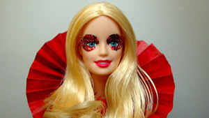Барби в образе Леди Гаги