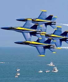"""""""Голубые ангелы"""" из Пенсаколы: Не для войны - для развлечения"""