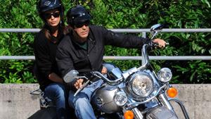 Звезды на мотоциклах