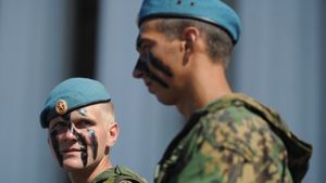 День ВДВ в столице отметили около 4 тысяч десантников