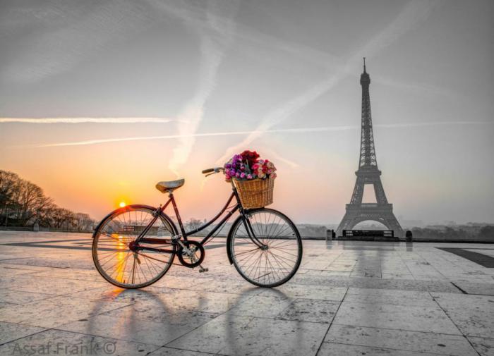 велосипед,Париж