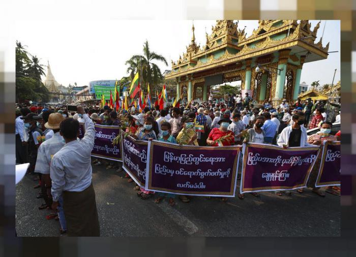 госпереворот в мьянме