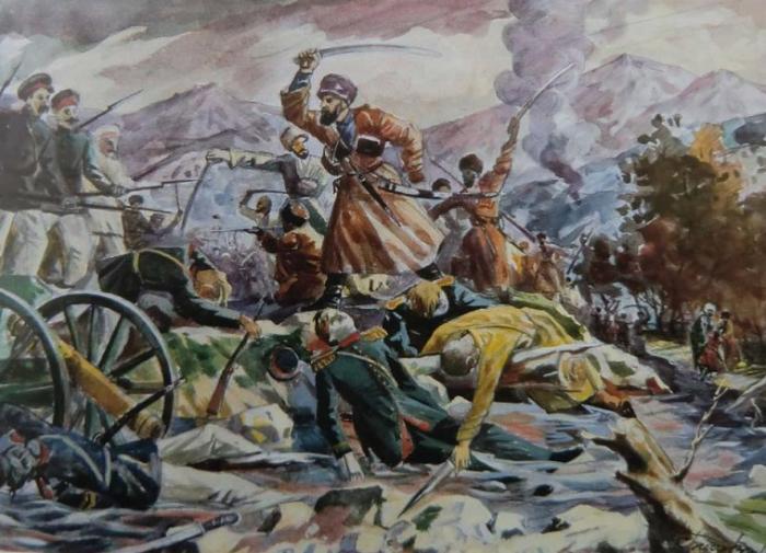 Чеченцы в Русско-Кавказской войне