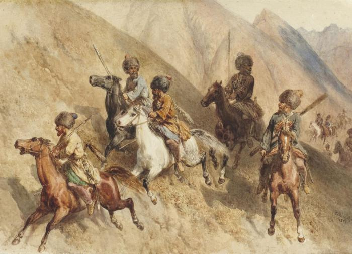 Русско-Кавказская война 1763-1864