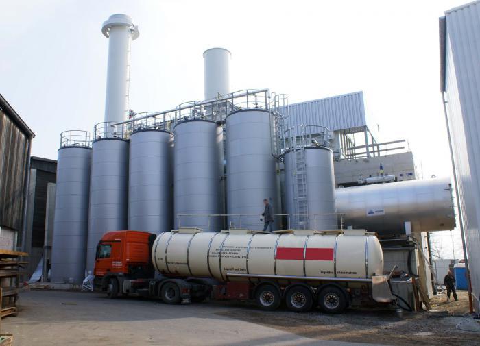 Хранилище пальмового масла
