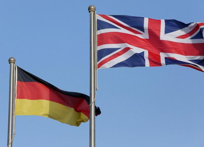 Британия Германия
