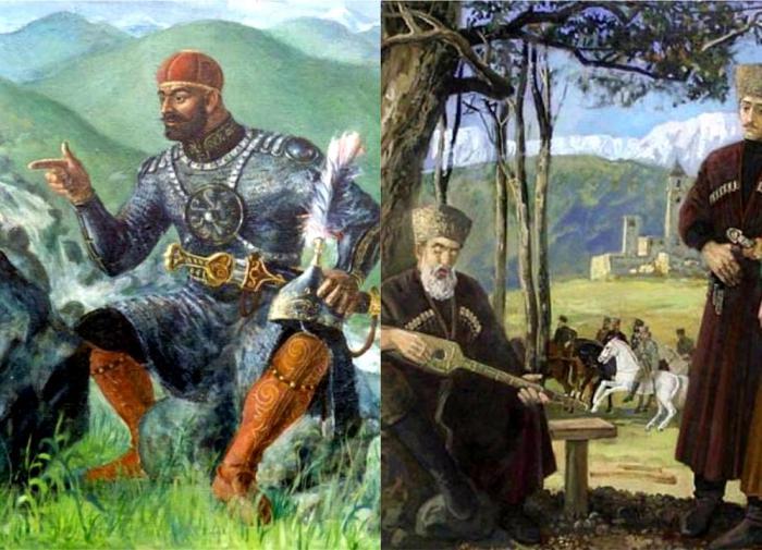Кавказские племена в древности