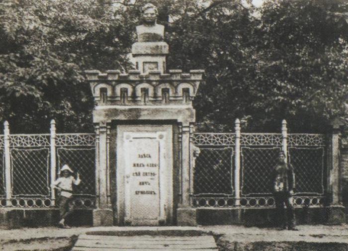 Памятник Ермолову в Грозном