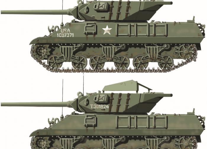 Американский истребитель танков