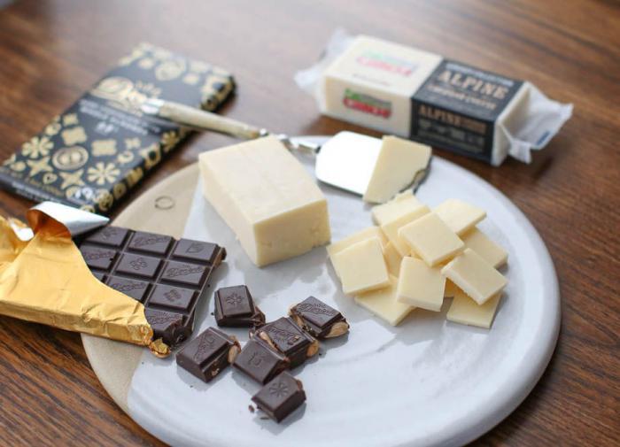 сыр, шоколад