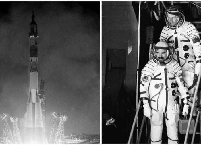 Космонавты программы интеркосмос