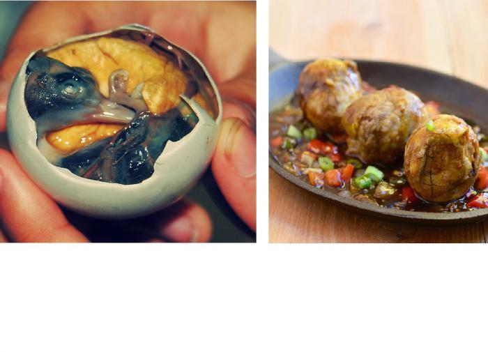 Филиппинское блюдо балют