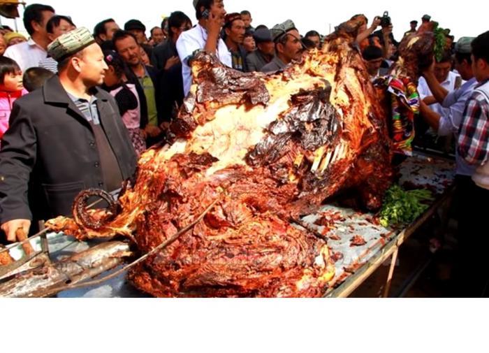 Арабское блюдо из верблюда