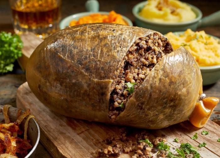 Национальное Шотландское блюдо Хаггис