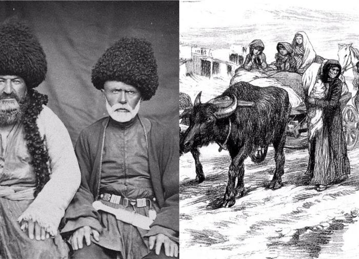 Народы Кавказа России 18 век