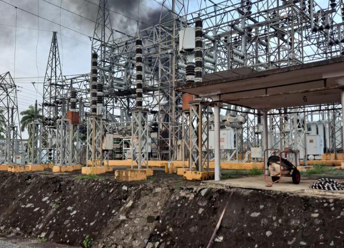 пожар на электростанции, Пуэрто-Рико