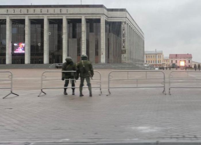 Белоруссия, ОМОН