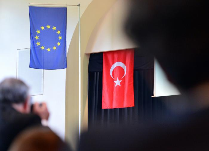 Турция и ЕС, флаги
