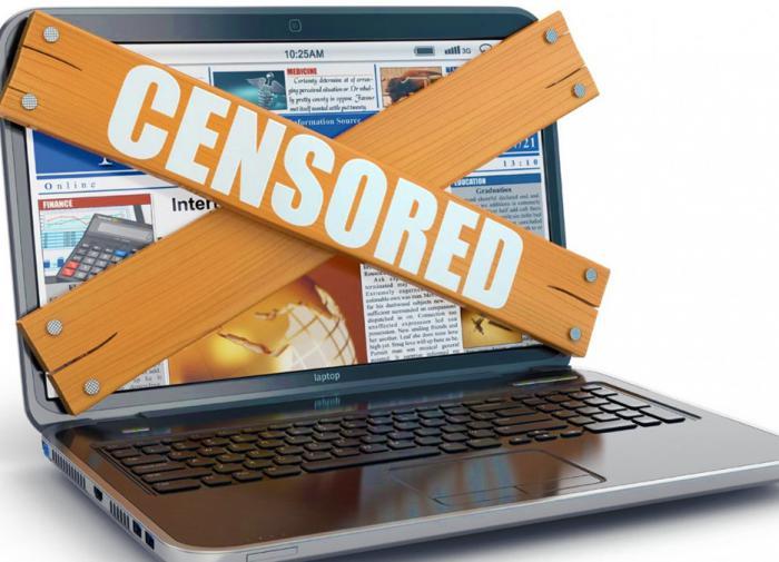 Цензура СМИ