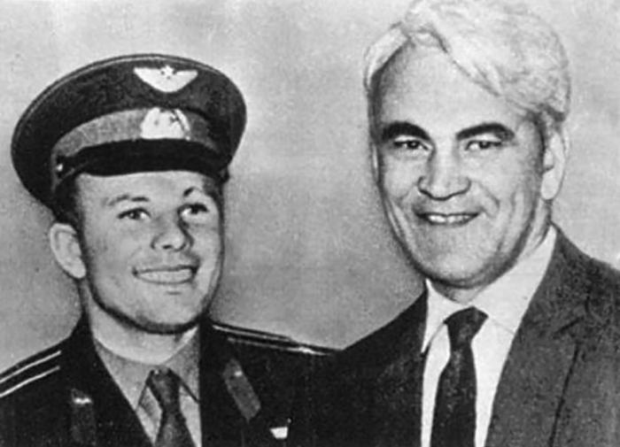 Гагарин и Келдыш