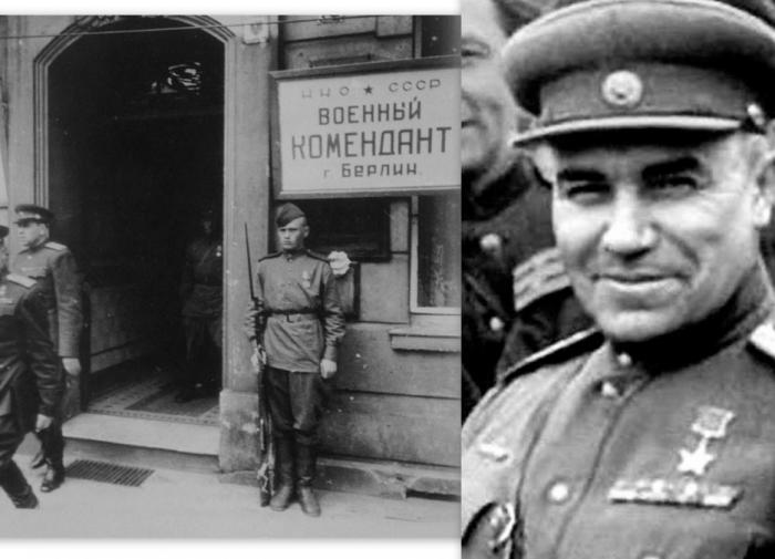 Николай Эрастович Берзарин комендант Берлина
