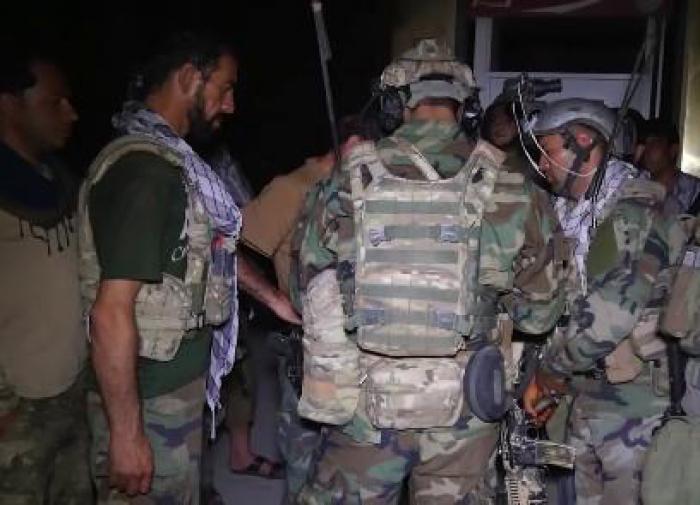 афганские пограничники сбежали в Таджикистан
