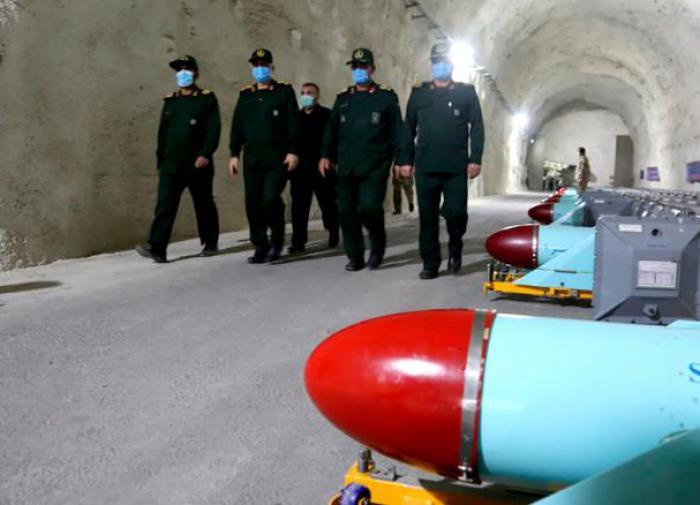 база стратегических ракет Ирана