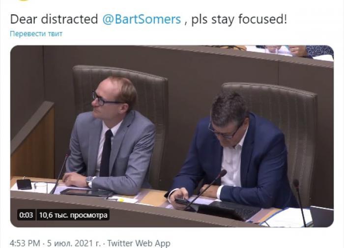 Бельгийский политик Барт Сомерс