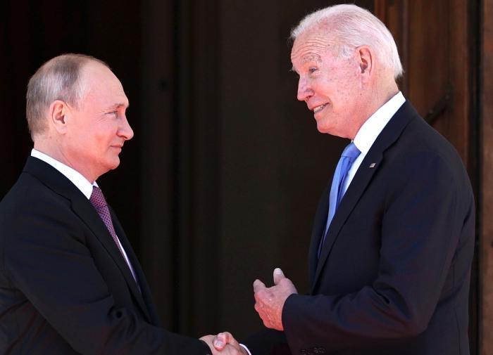 Джо Байден, Владимир Путин, Женева