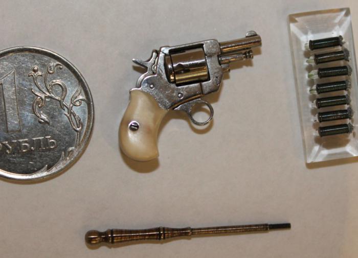 Самый маленький пистолет в Тульском музее оружия